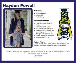 Hayden Powell