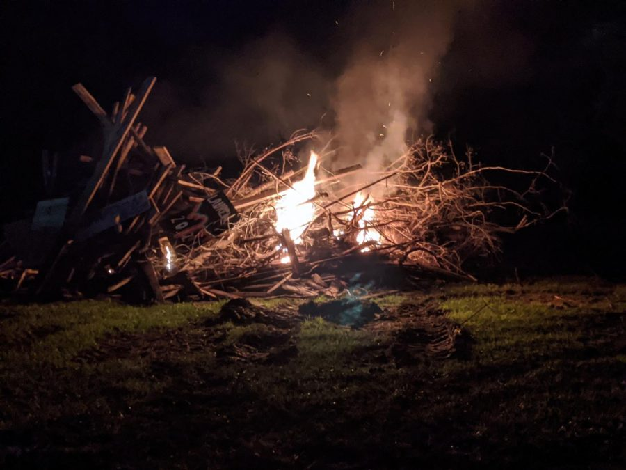 2020 West Hardin Homecoming Bonfire