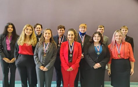 Speech and Debate team results (district)