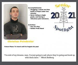 2021 Senior Christian Poindexter