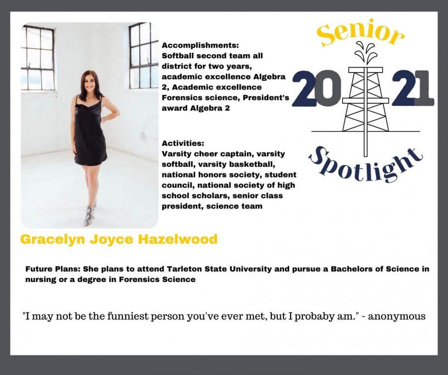 2021 Senior Gracelyn Hazelwood
