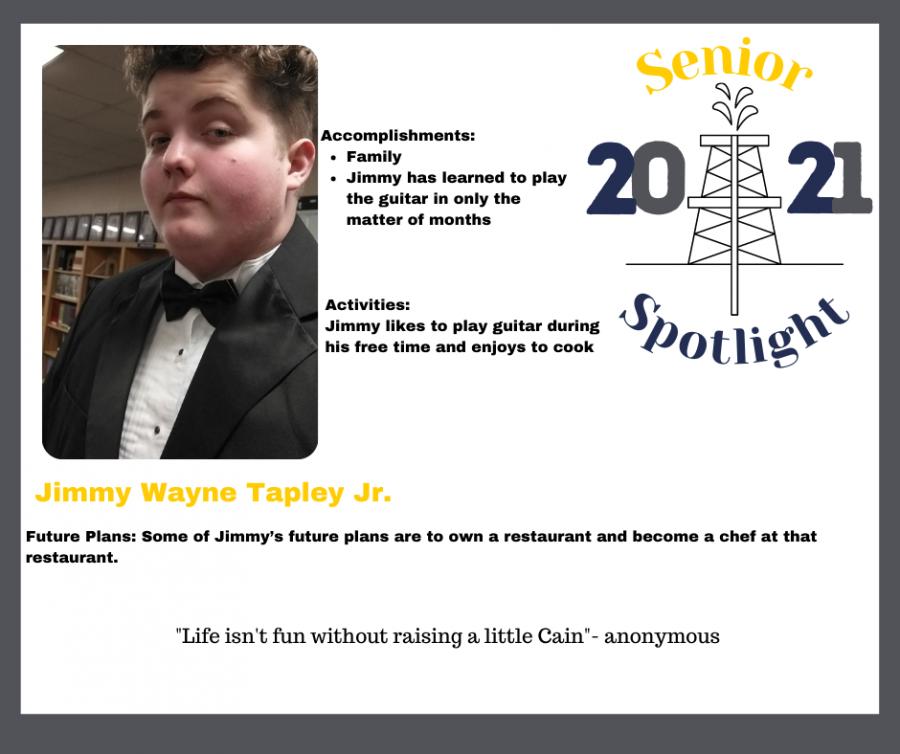 2021 Senior Jimmy Wayne Tapley Jr.