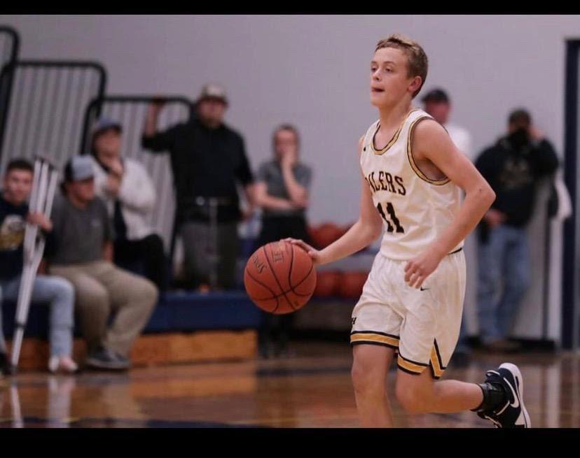 A rising basketball star