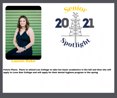 2021 Senior Lauren Duke